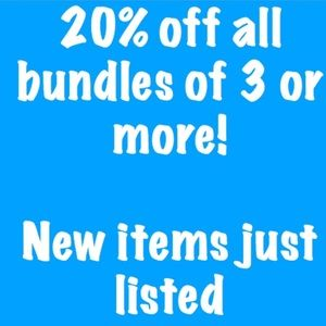 Other - Save 20% with a bundle of 3 or more!